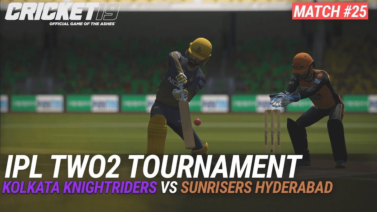 CRICKET 19 - IPL2020 TWO2 - MATCH #25 - KOLKATA KNIGHTRIDERS vs SUNRISERS HYDERABAD