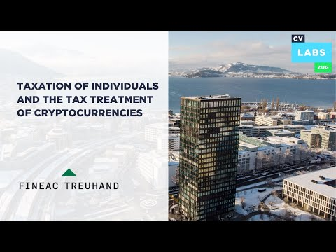 Taxation of individuals in Switzerland and the tax treatment of crypto currencies –  Fineac Treuhand