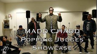 Madd Chadd - Pokaz sędziów na Battle for the Gifts Dallas - Popping