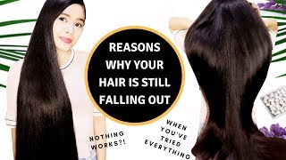 This Could Be the Reason Why Your Hair Is Still Falling out! How To Stop Hair Fall
