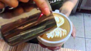 Cafe Departure Lounge Latte Art - Phoenix