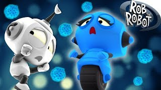 SPACE VIRUS BLUES | Rob The Robot Full Episodes Compilation | Cartoons For Children