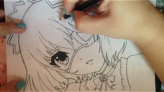 How   to   draw  Misaki  Mei (The Another)