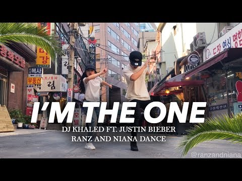 I'M THE ONE - DJ Khaled ft Justin Bieber Dance | Ranz and Niana