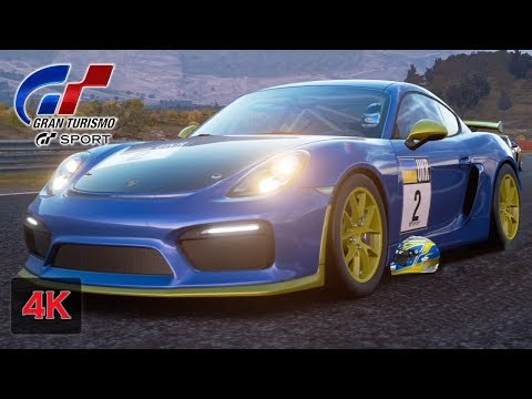 Gran Turismo Sport Onboard [4K] First Win in Online Race - Cayman GT4 - Fia GT Nations Cup
