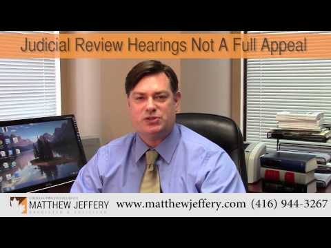 What is Judicial Review Toronto | Matthew Jeffery, Toronto Immigration Lawyer