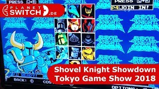 Shovel Knight Showdown (Switch) - Angespielt @Tokyo Game Show 2018