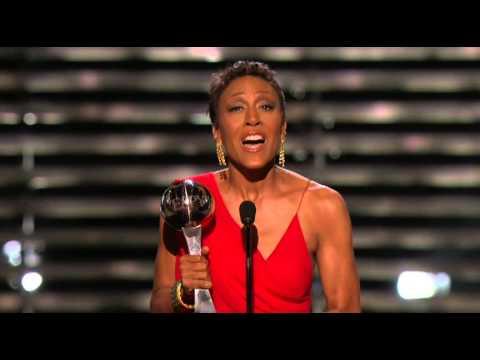 Robin Roberts' Inspiring Award Acceptance Speech - ESPYs (07-17-2013)