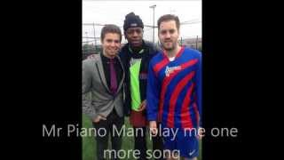 Mr Piano Man Lyric Video