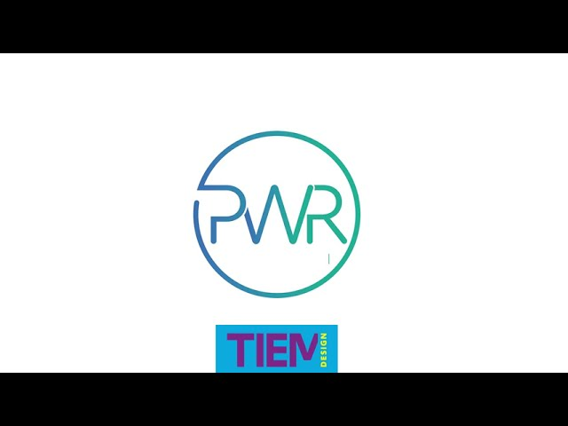 TIEM PWR logo Before & after