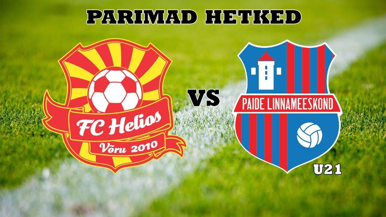a8355e098e8 Esindus sai Paide U21st teistki korda jagu - Võru FC Helios