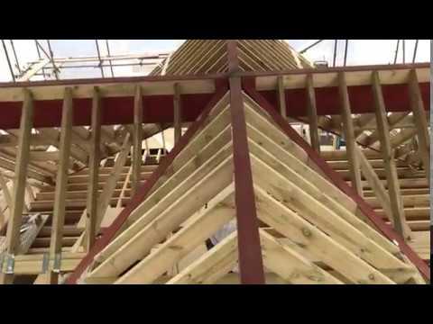 Bungalow Hip to gable loft conversion Warton Woodworks