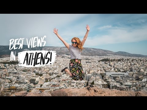 Athens Guide – Top 3 BEST VIEWS in ATHENS GREECE!