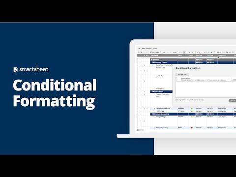 Conditional Formatting | Smartsheet Learning Center