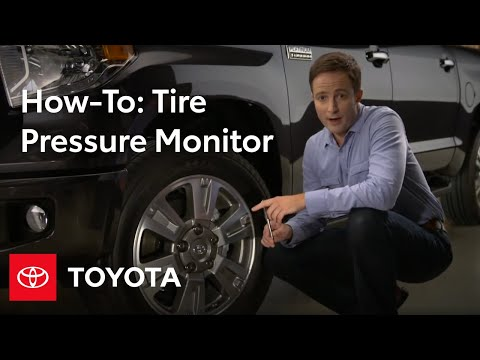 2014 Tundra How-To: Tire Pressure Monitor System | Toyota