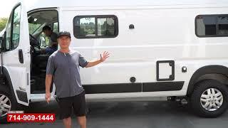 Winnebago Camper Van   Solis Collision Repair