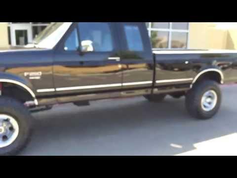 1-Owner 139k 1996 F250 7.3 Powerstroke Diesel 4x4 Stick Shift For Sale
