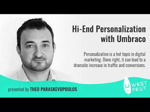 High End Personalization with Umbraco