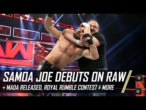 Samoa Joe Raw Debut, Mada Released From WWE, Royal Rumble Contest & More (Smack Talk 270 Hot Tags)