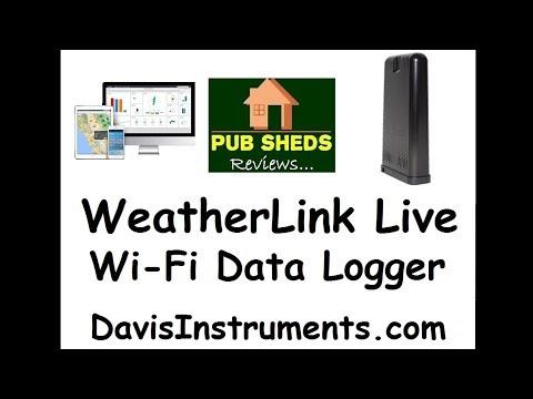 **REVIEW** Davis WeatherLink Live Wi-Fi Data Logger By Davis Instruments
