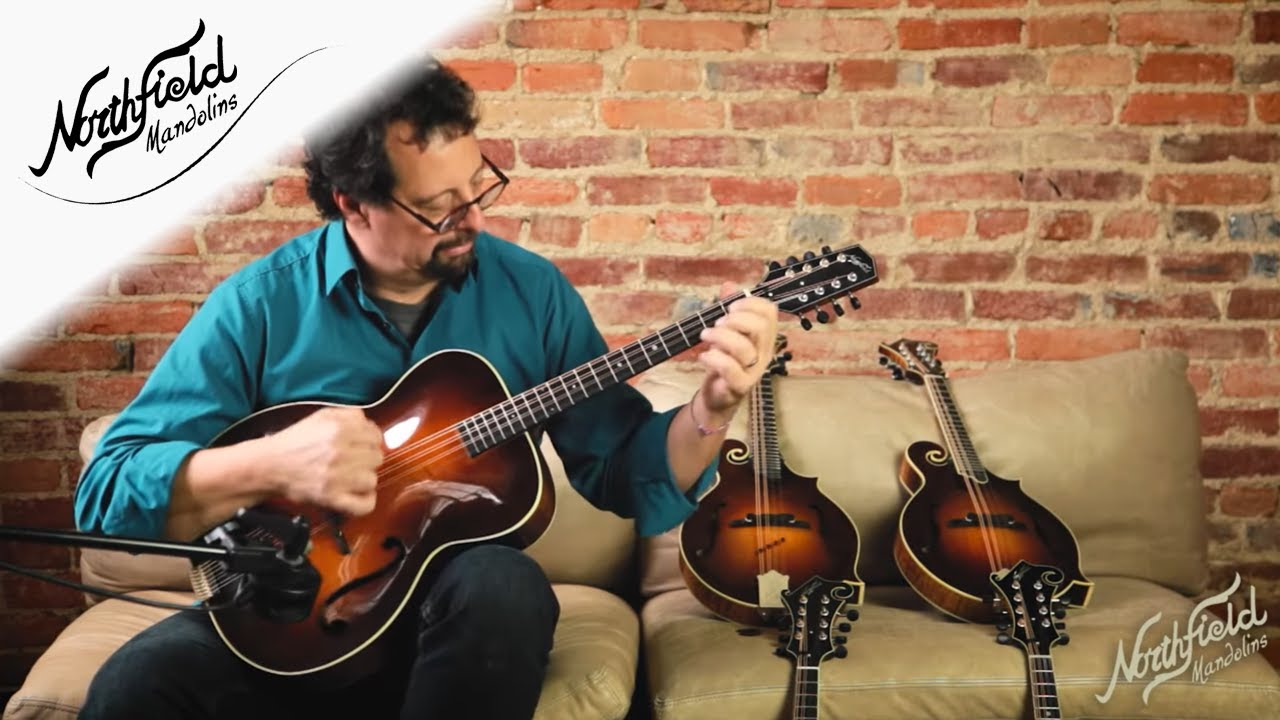 Northfield Archtop Octave Mandolin, Mike Marshall Demo