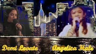 Angelica Hale and Demi Lovato