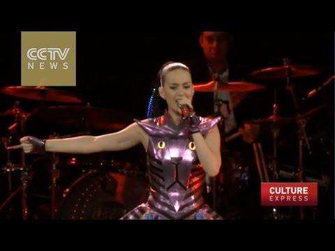 Katy Perry roars into Shanghai