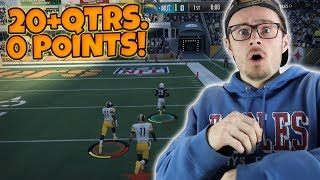 PUTTING OUR CRAZY 5 GAME SHUTOUT STREAK ON THE LINE!! Madden Packed Out