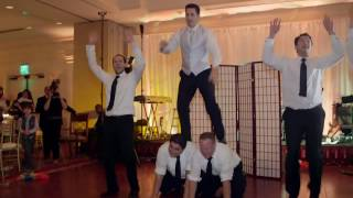 Funny Surprise Groomsmen Dance For Bride At Wedding - Amazing!