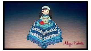 Paper Quilling Doll DESIGN Idea - DIY Doll DESIGN