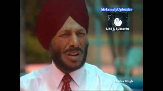 Milkha Singh Race in Pakistan - Flying Sikh [Autobiography ]