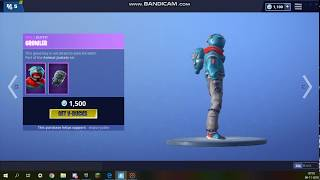 *NEW* Flapjackie and Growler skins - Fortnite Battle Royale Item Shop