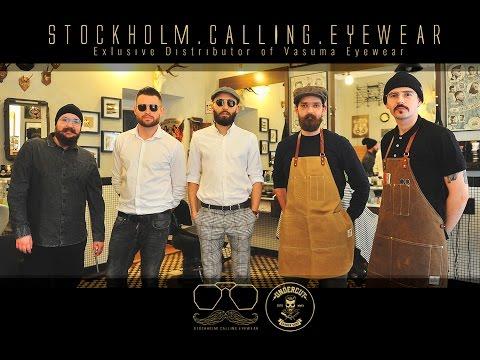 Stockholm Calling Eyewear x Vasuma Eyewear x Undercut Barber Shop