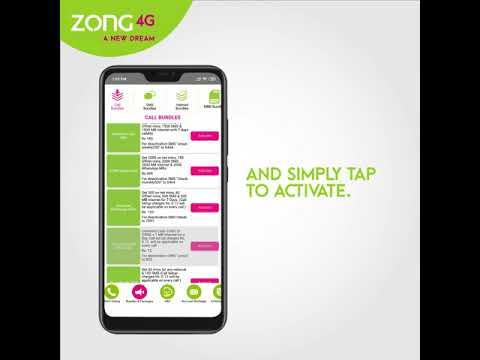 Zong 4G Pakistan - My App