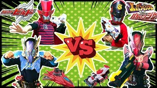 今回は仮面ライダービルドとルパンレンジャー&パトレンジャーのチーム...