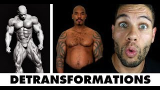 What Happens After Taking Steroids | Steroid De-transformations | FLEX Daily 95