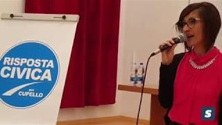 Roberta Boschetti candidata sindaco a Cupello con Risposta Civica