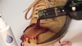 Liquiproof Footwear Protector in slow motion 240fps - ultimate sneaker protection - keep them clean