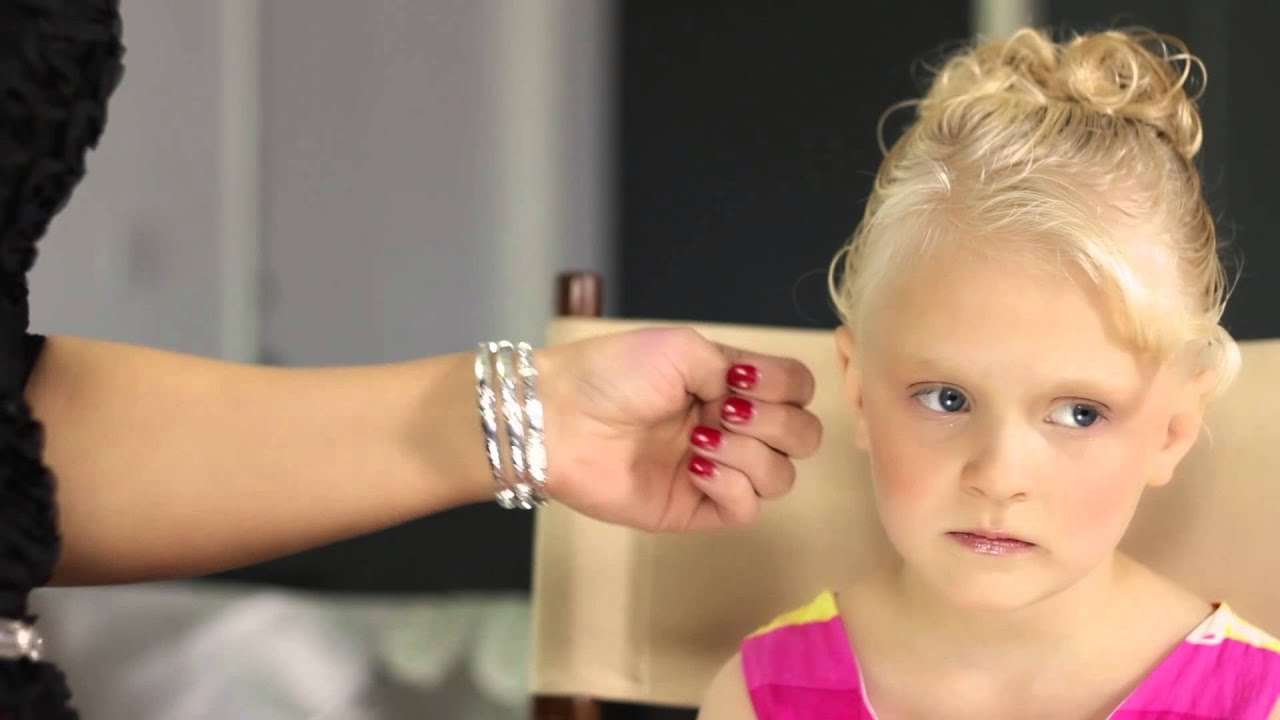 how to do kid's pageant makeup : beauty maven - youtube