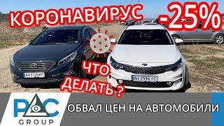 COVID 19. Обвал цен на автомобили 2020 из США и Кореи. Влияние КОРОНАВИРУСА COVID-19