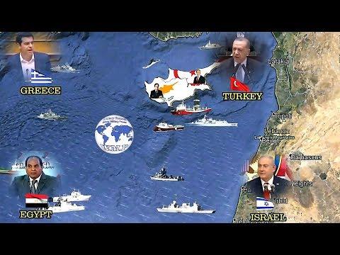 Turkey | Northern Cyprus VS Greece | Israel | Egypt | Cyprus Military Comparison 2018