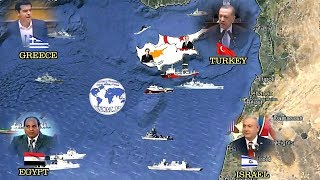 Turkey   Northern Cyprus VS Greece   Israel   Egypt   Cyprus Military Comparison 2018