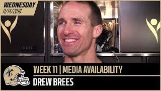 Saints quarterback Drew Brees previews this Sunday's home match-up ...