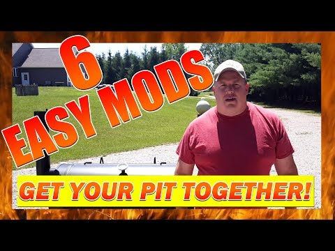 Best Offset Smoker Modifications   6 Easy Mods