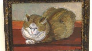 Мартовские коты на холстах Виктора Маркова