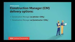 AIA 2019 Documents  Construction Manager as Adviser