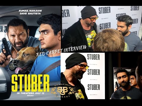 STUBER | Red Carpet Interview | Washington D.C | Kumail Nanjiani And Dave Bautista