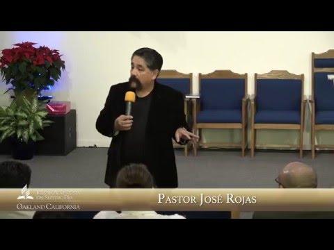 Pastor José Vicente Rojas: Sábado Dec. 12, 2015