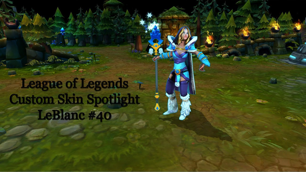 Leblanc League Of Legends Skin