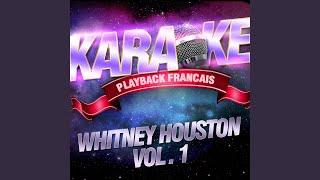 One Moment In Time (C-C#) — Karaoké Playback Avec Choeurs — Rendu Célèbre Par Whitney...